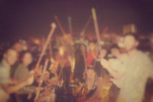 ミャンマーでのパーティー