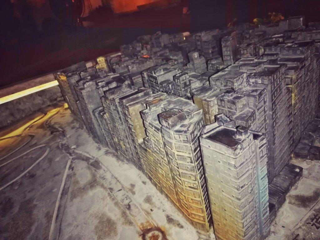九龍城の模型