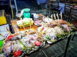 ベトナムの海の幸