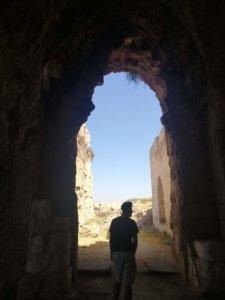 ハラン遺跡を散策する