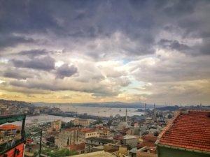 イスタンブールの街の全景