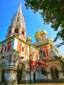 赤と金の教会