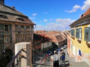 シビウの街と屋根