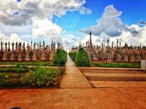 シャン州の秘境カックー遺跡
