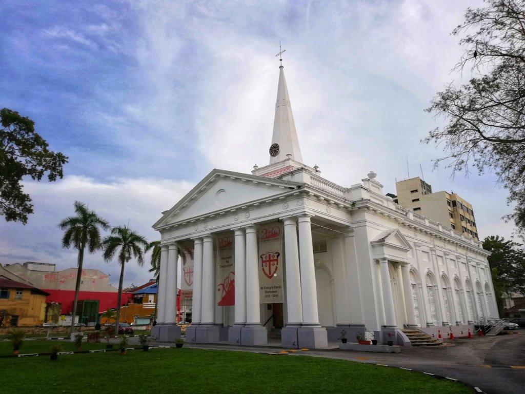ペナン島の教会