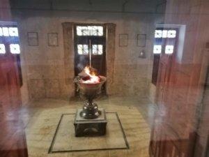 ゾロアスター教の聖なる炎