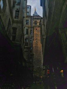 イスタンブールを見渡す塔