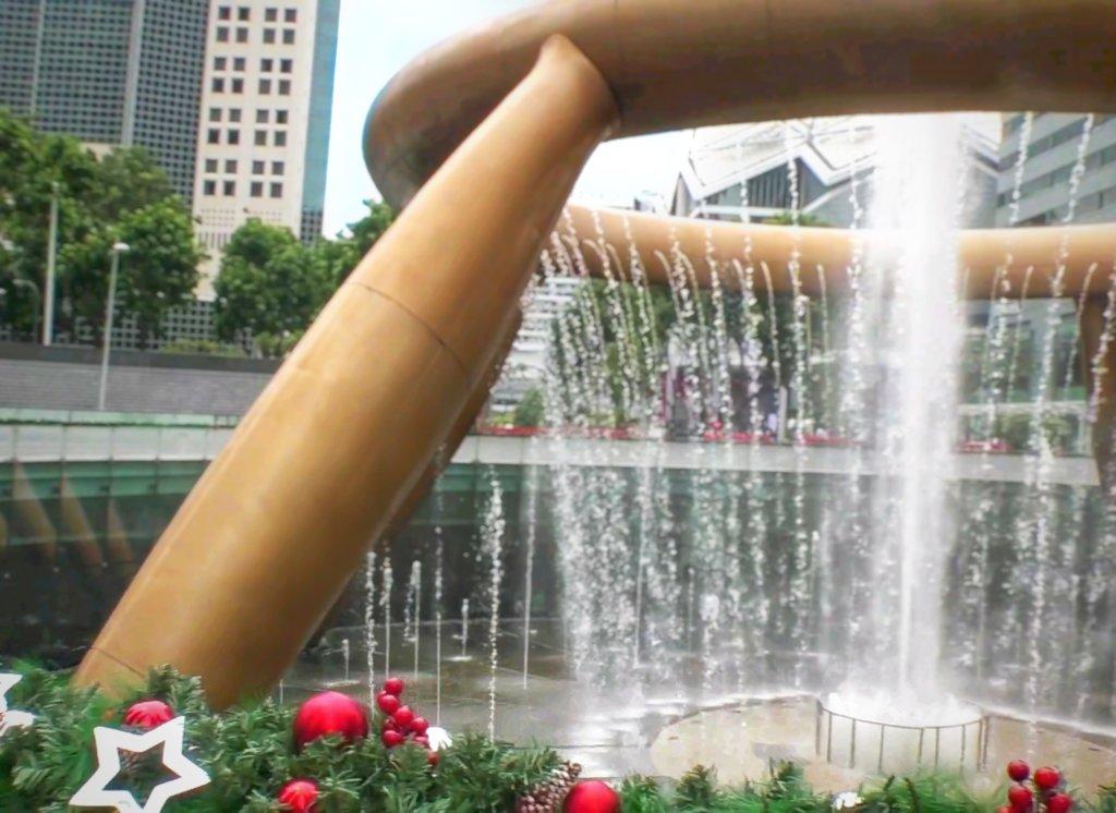シンガポールの幸運の噴水