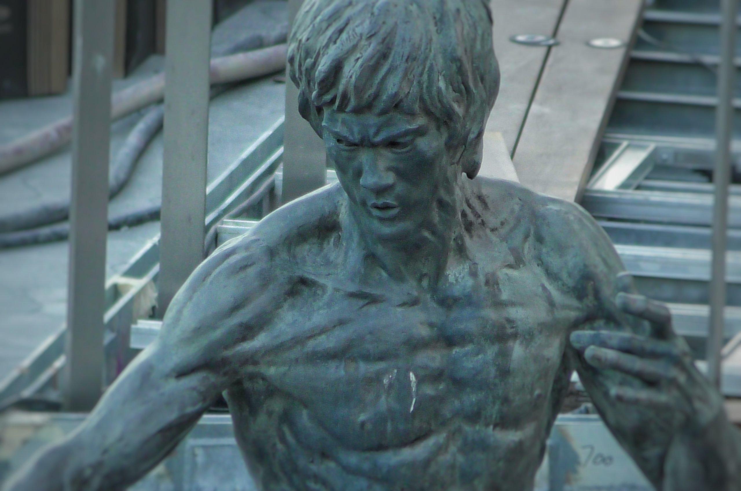 香港にあるブルース・リーの銅像,Statue of Bruce Lee in Hong Kong