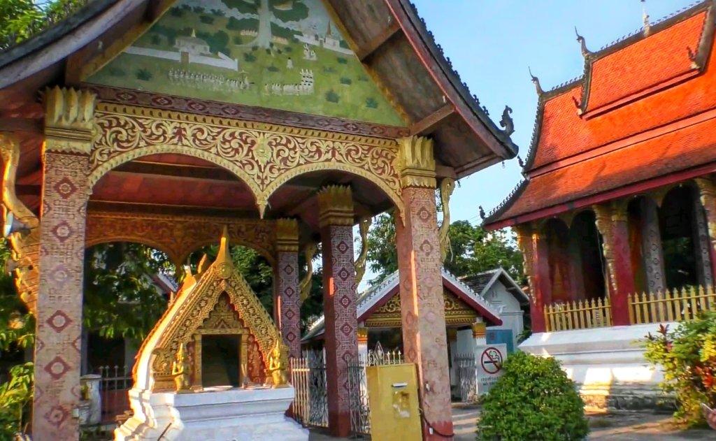ルアンパバーンの寺院,Luang Prabang Temple