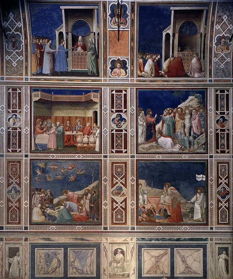ルネサンスの魁となるジョットの教会絵
