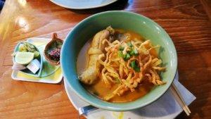 タイの美味しいカオソーイ