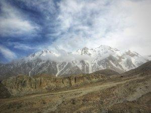 高度の高い山々