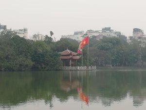 ベトナム旗と仏教