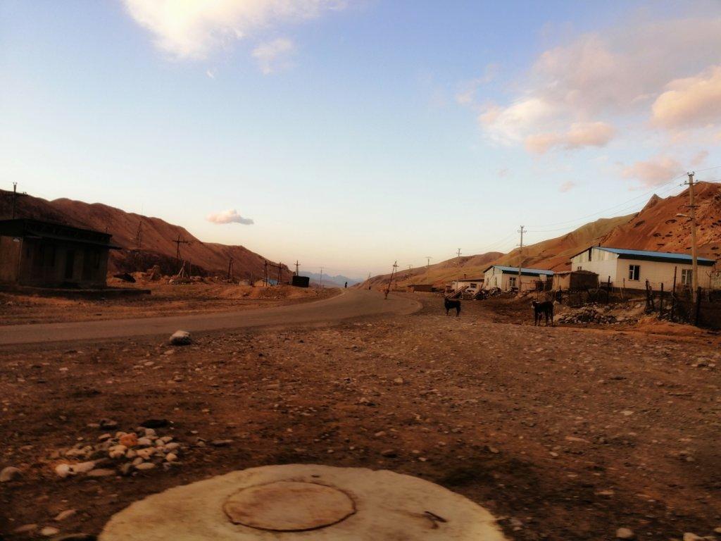 キルギスの田舎