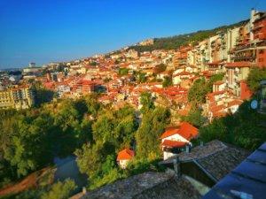 ヴェリコ・タルノヴォの景色