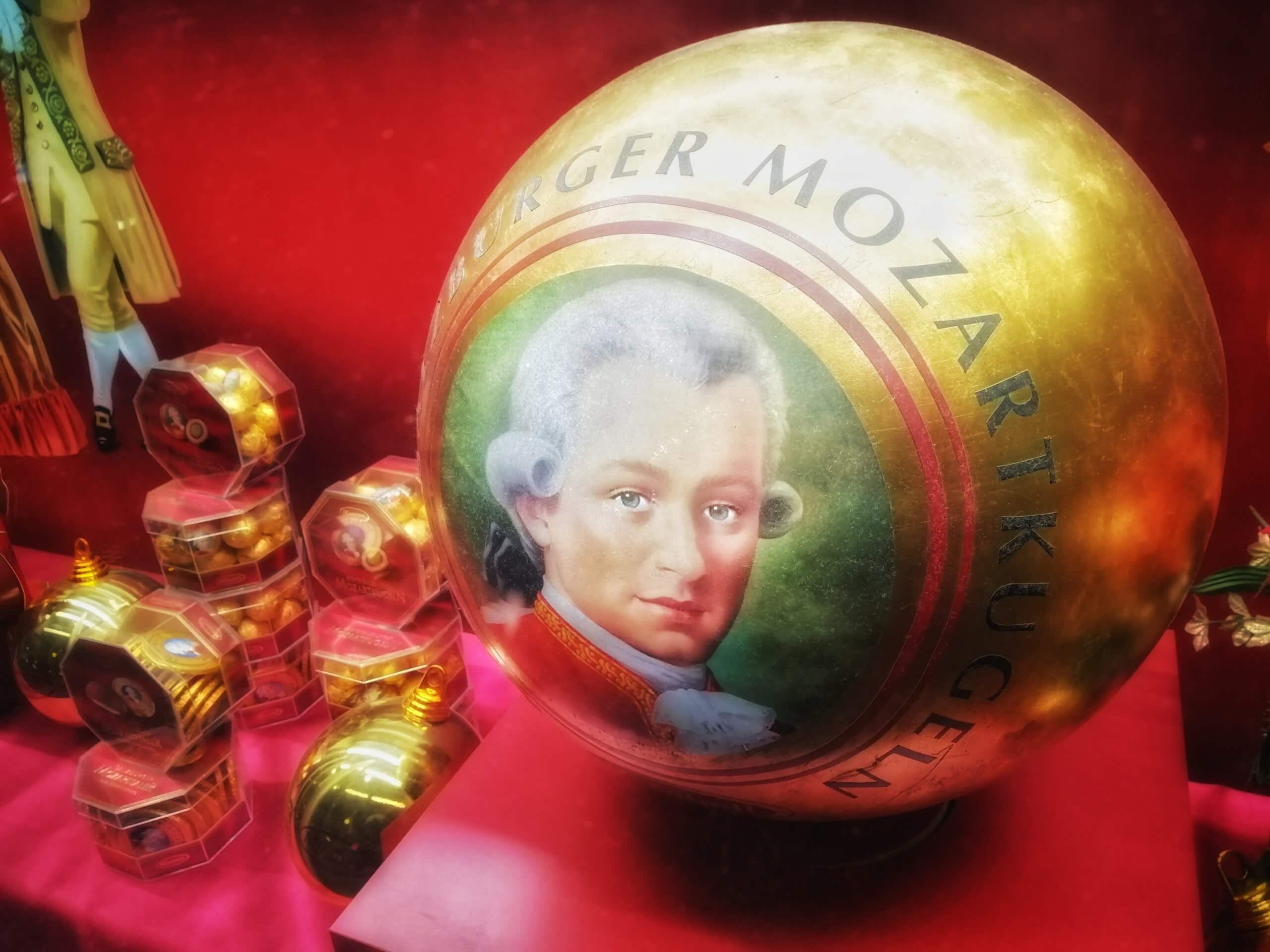 モーツァルトのチョコレート