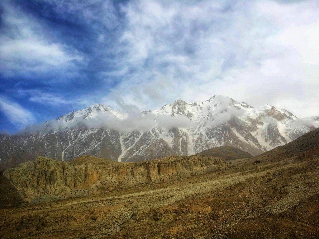 キルギスと中国の国境