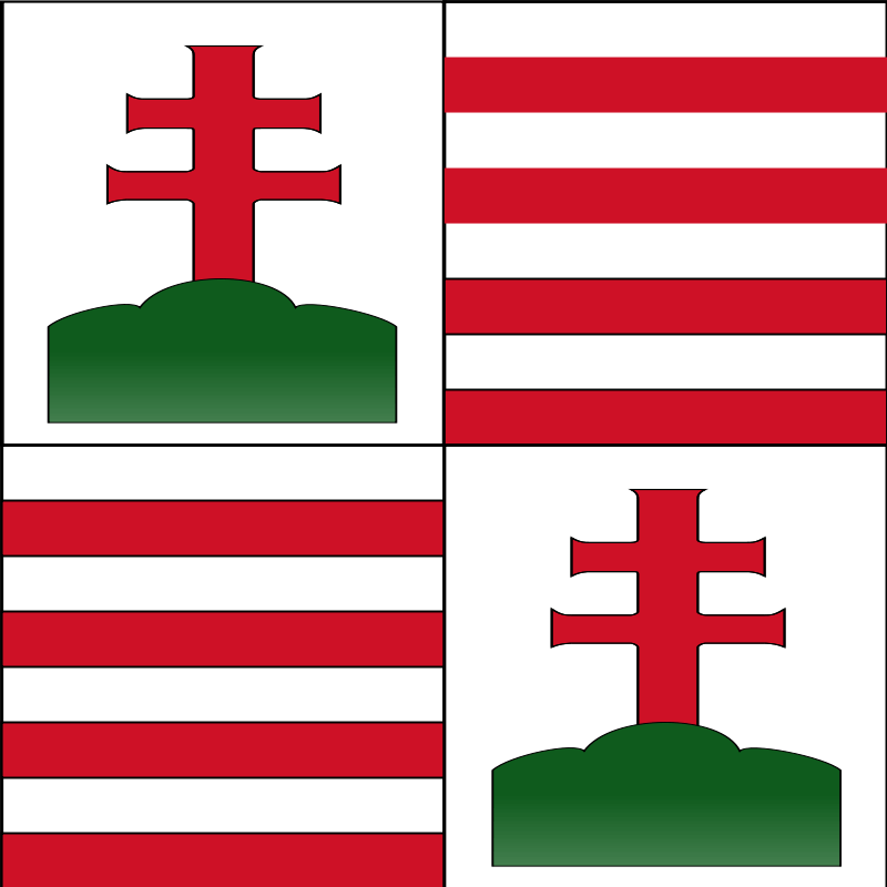 15cのハンガリー国旗