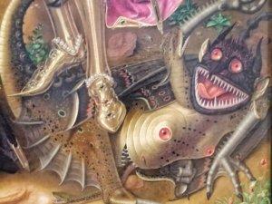 15世紀に書かれた悪魔の絵