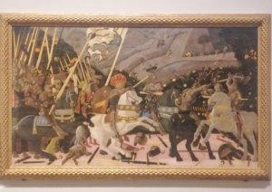 パステルのような雰囲気の14世紀の絵画