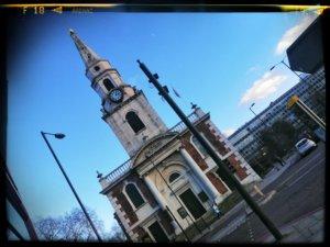 ロンドンの小さな教会