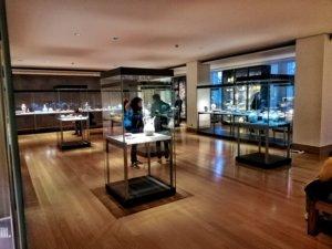 展示された中国の陶磁器