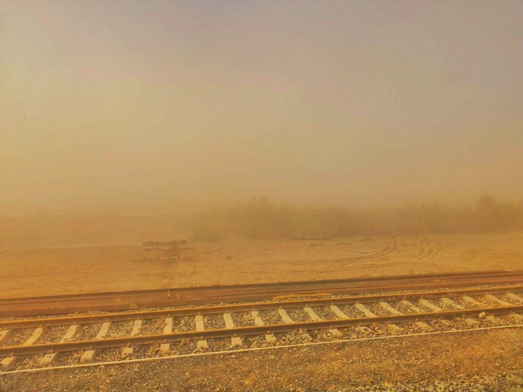 カシュガルの砂嵐