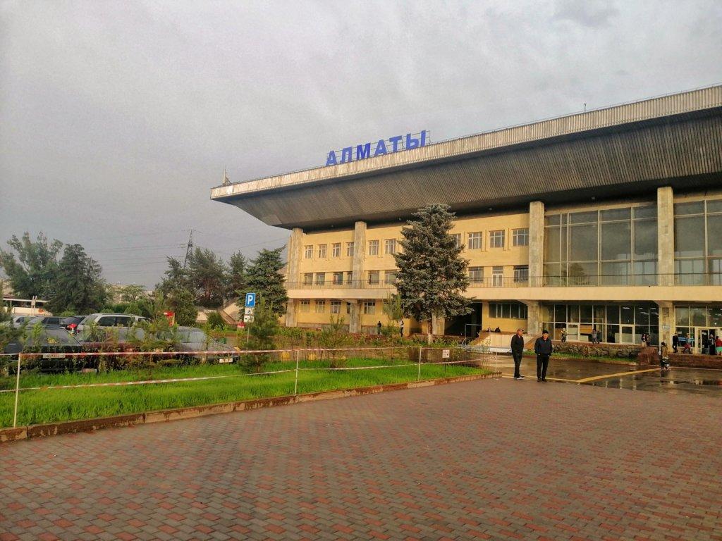アルマティのバスターミナル