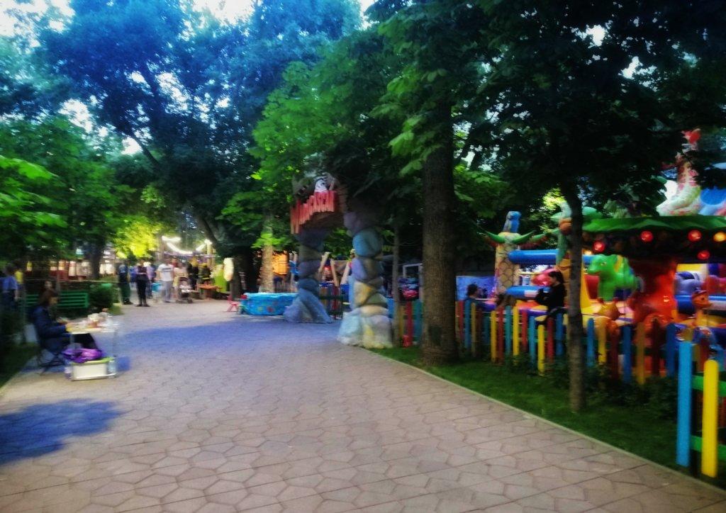 アルマティの遊園地