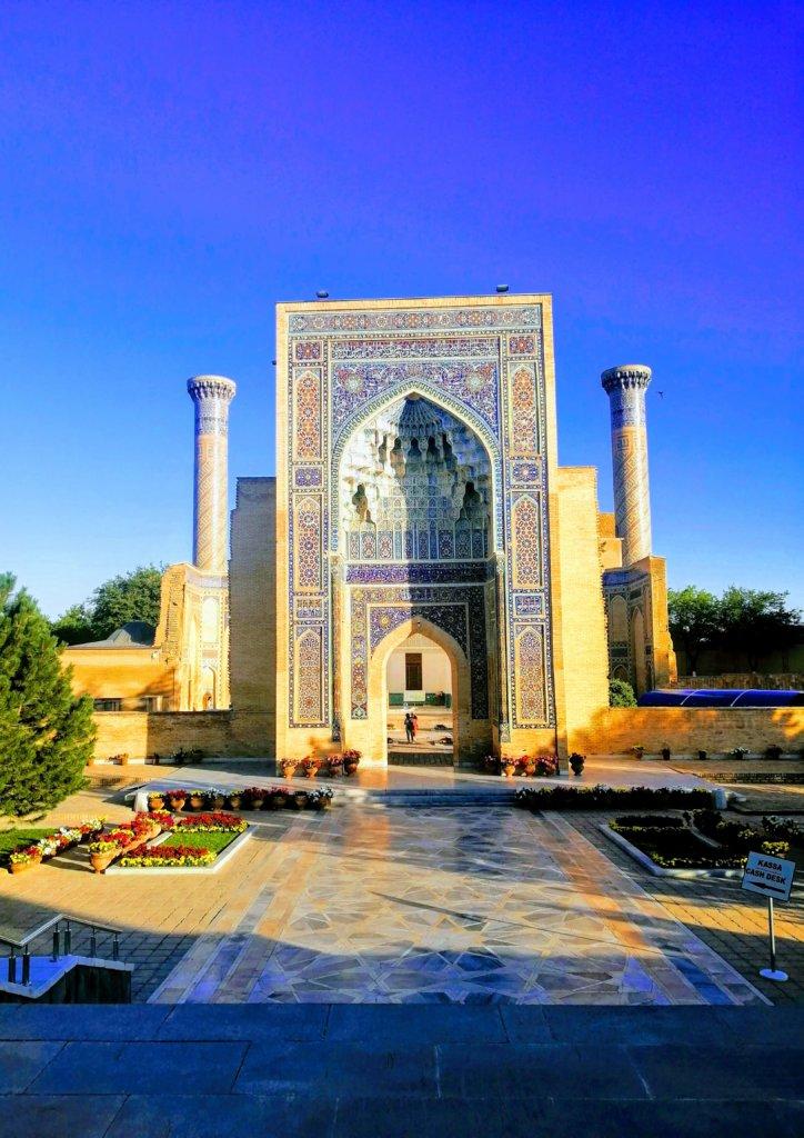 ウズベキスタンのティムールのお墓