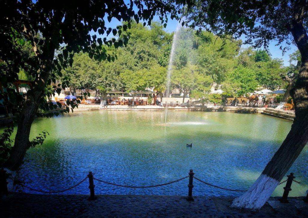 ブハラの噴水