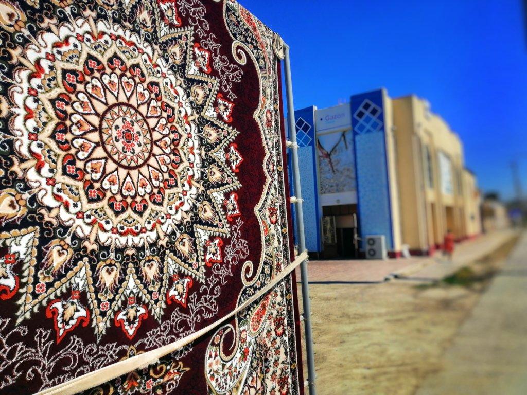 ブハラの絨毯