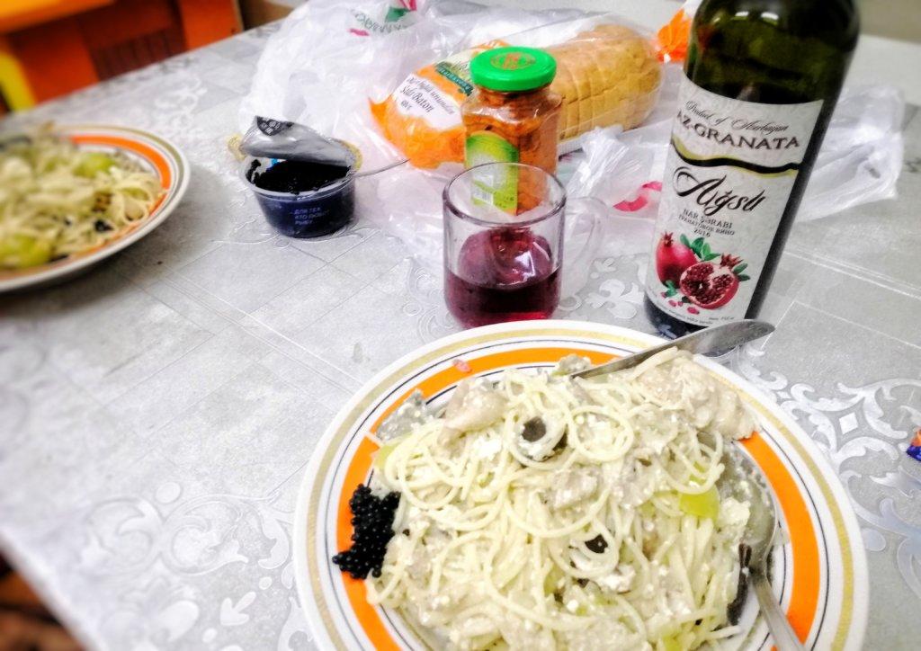 バクー:自炊とアゼルバイジャンワイン