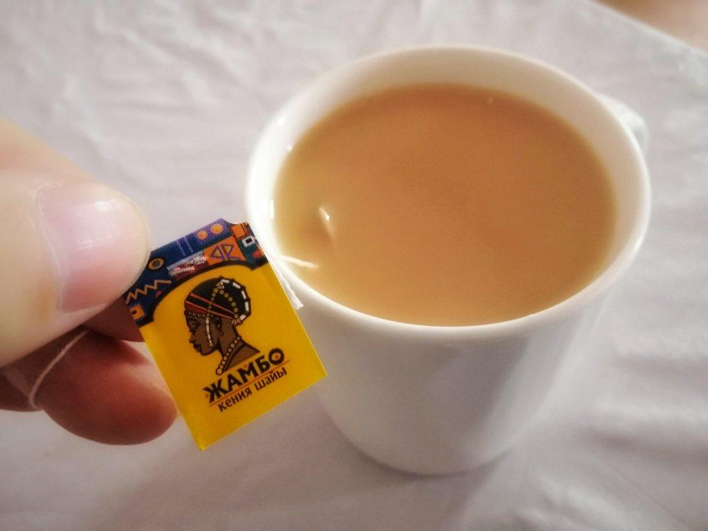ウズベキスタンで飲んだミルクティー