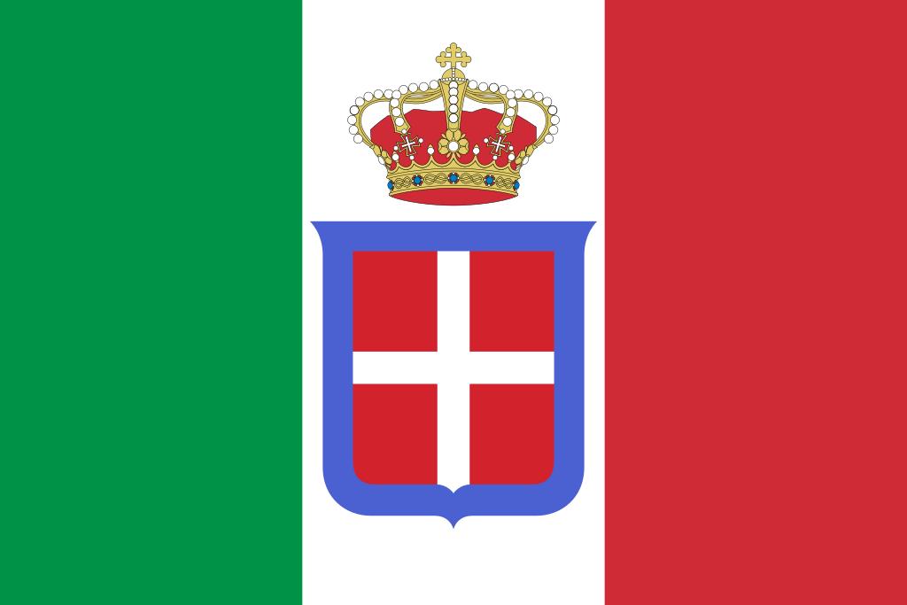 国旗:イタリア(サルデーニャ王国)