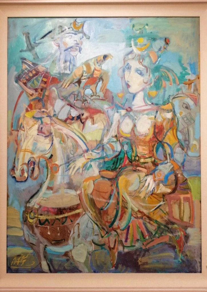 アゼルバイジャン:色使いの美しい絵画作品