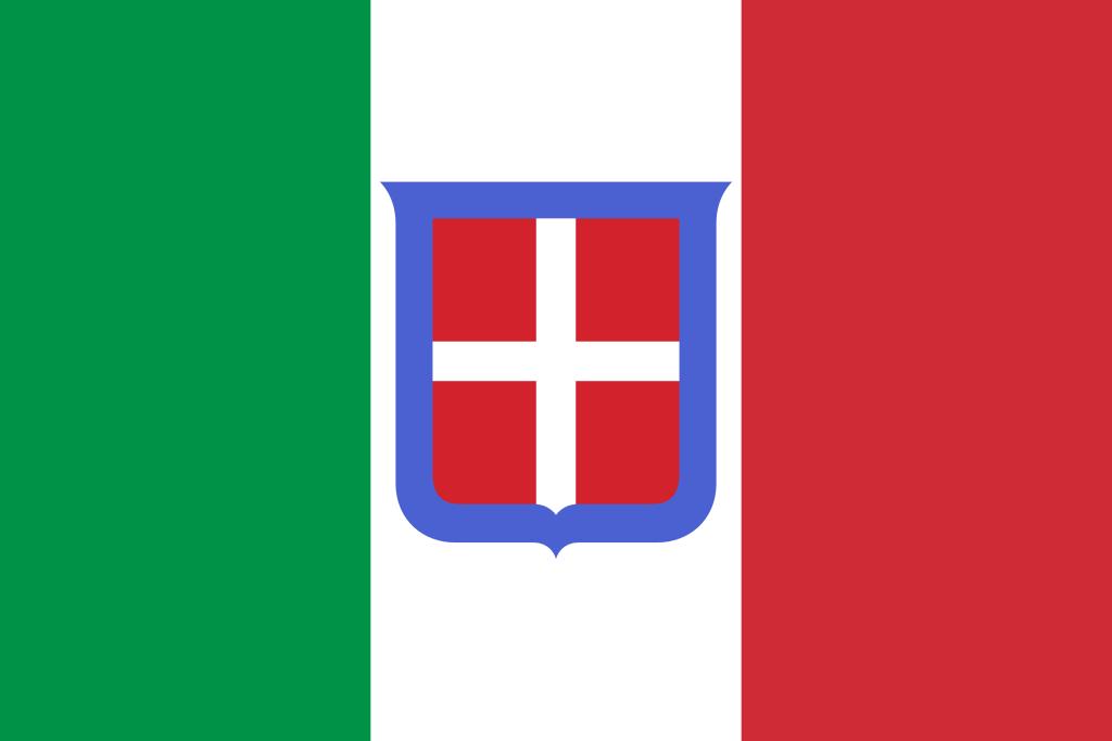 国旗:イタリア王国(1861–1946)