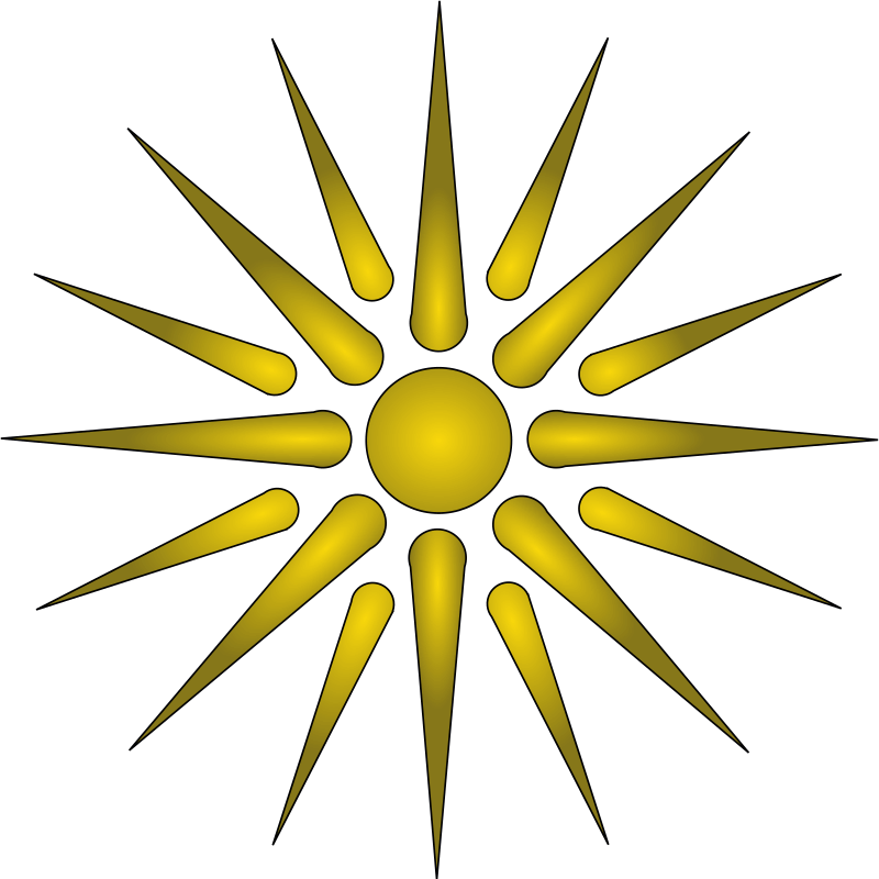 国旗:国章・マケドニア
