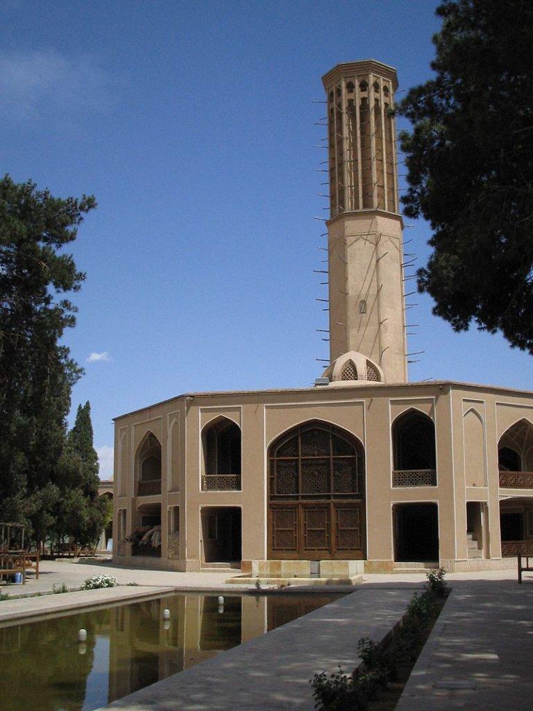 画像:イランのバードギール