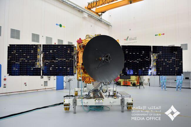 画像:UAEの人工衛星