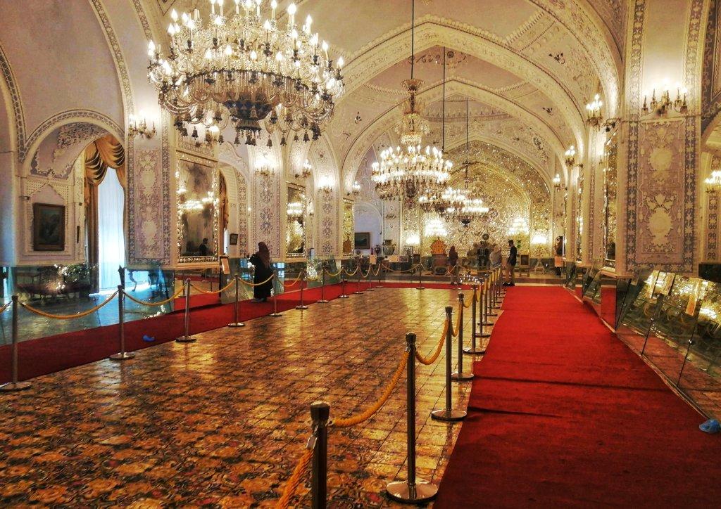 テヘランん:ゴレスターン宮殿内部