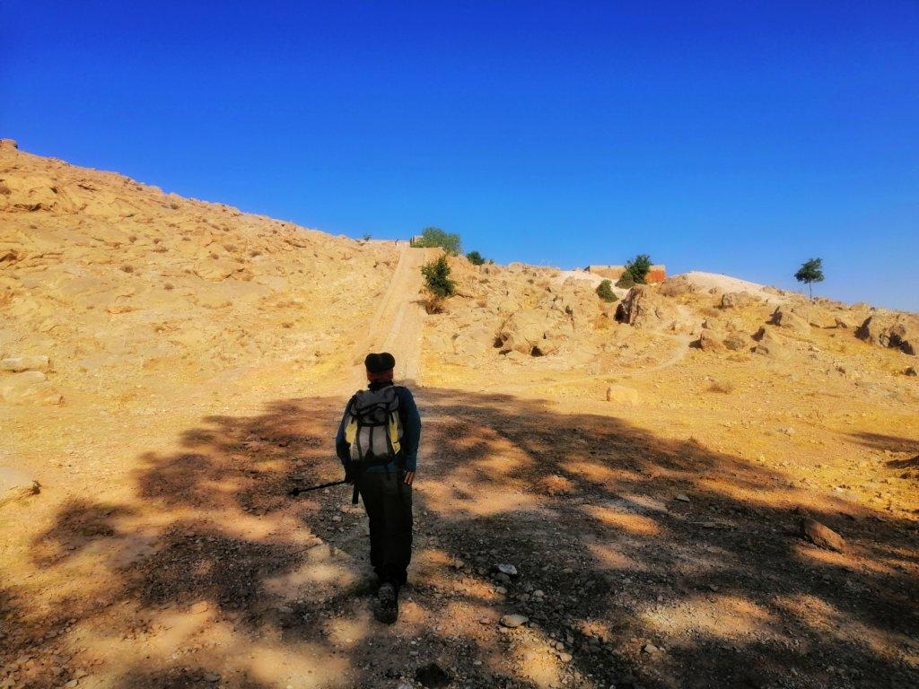 イラン:ペルセポリスをハイキング