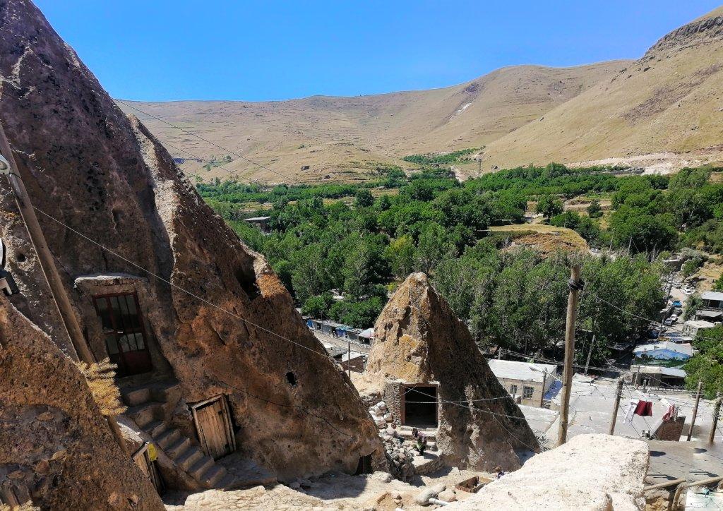 イラン:カンドヴァンの住居