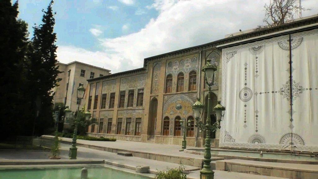 テヘラン:ゴレスターン宮殿外観