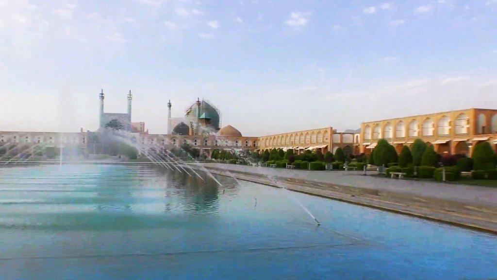 イスファハン:パノラマの広場