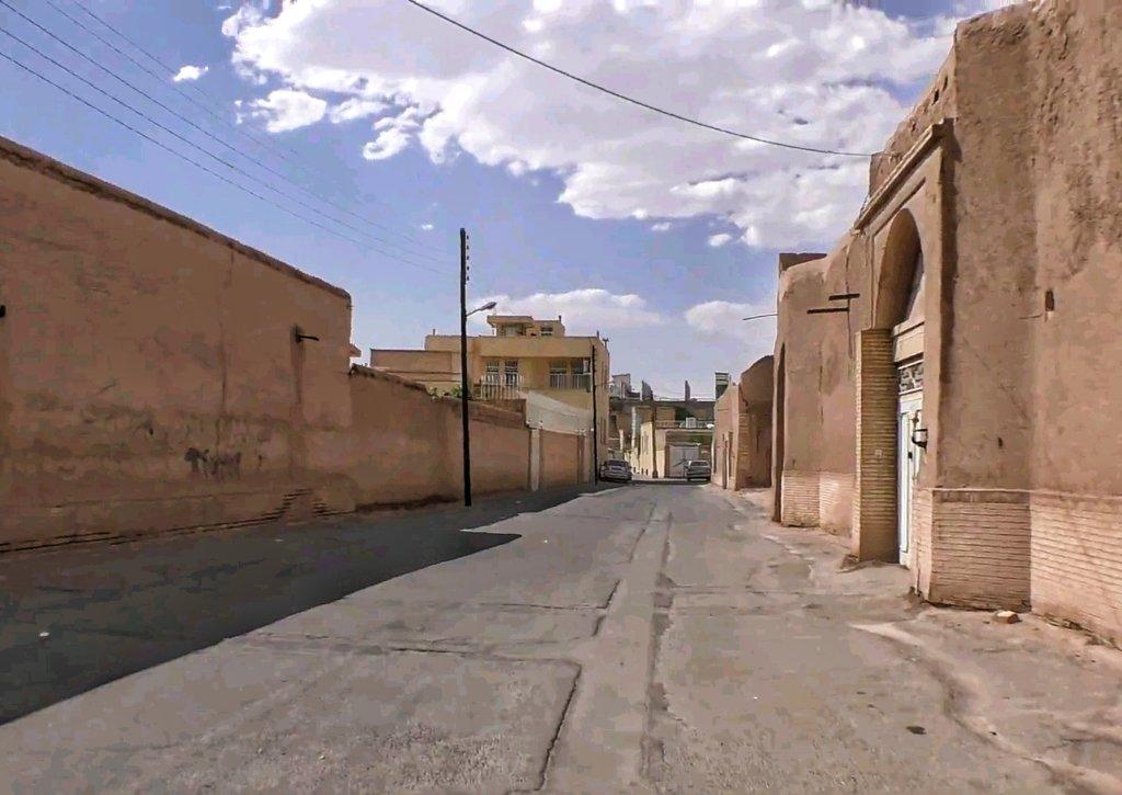 ヤズド:土造りの街並み