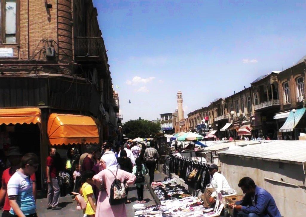 タブリーズ:ストリートマーケット