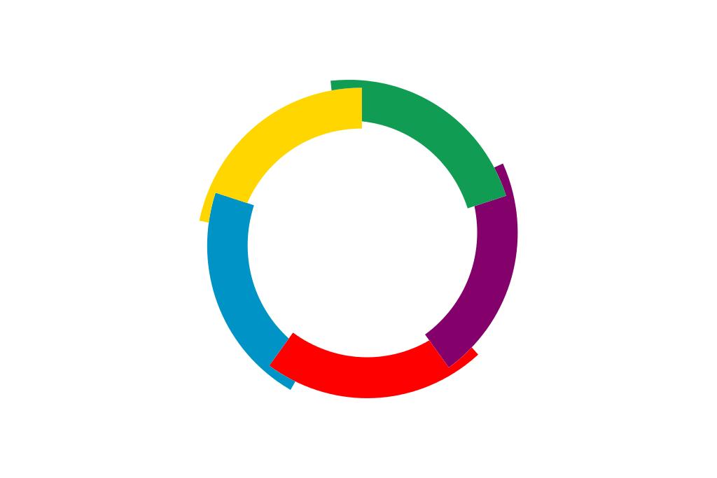 国旗:フランコフォニー(フランス共同体)