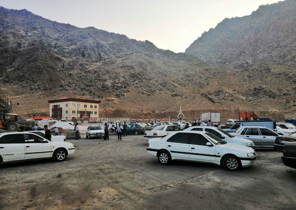 イランとアルメニアの国境ノウルーズ